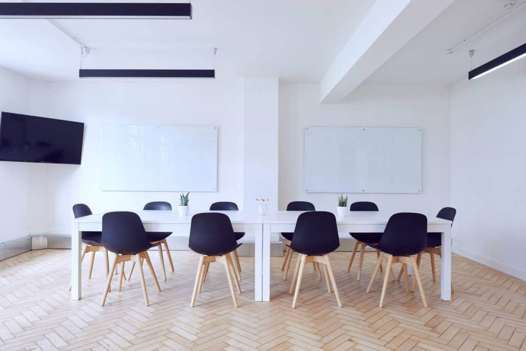 Startup accountants board room